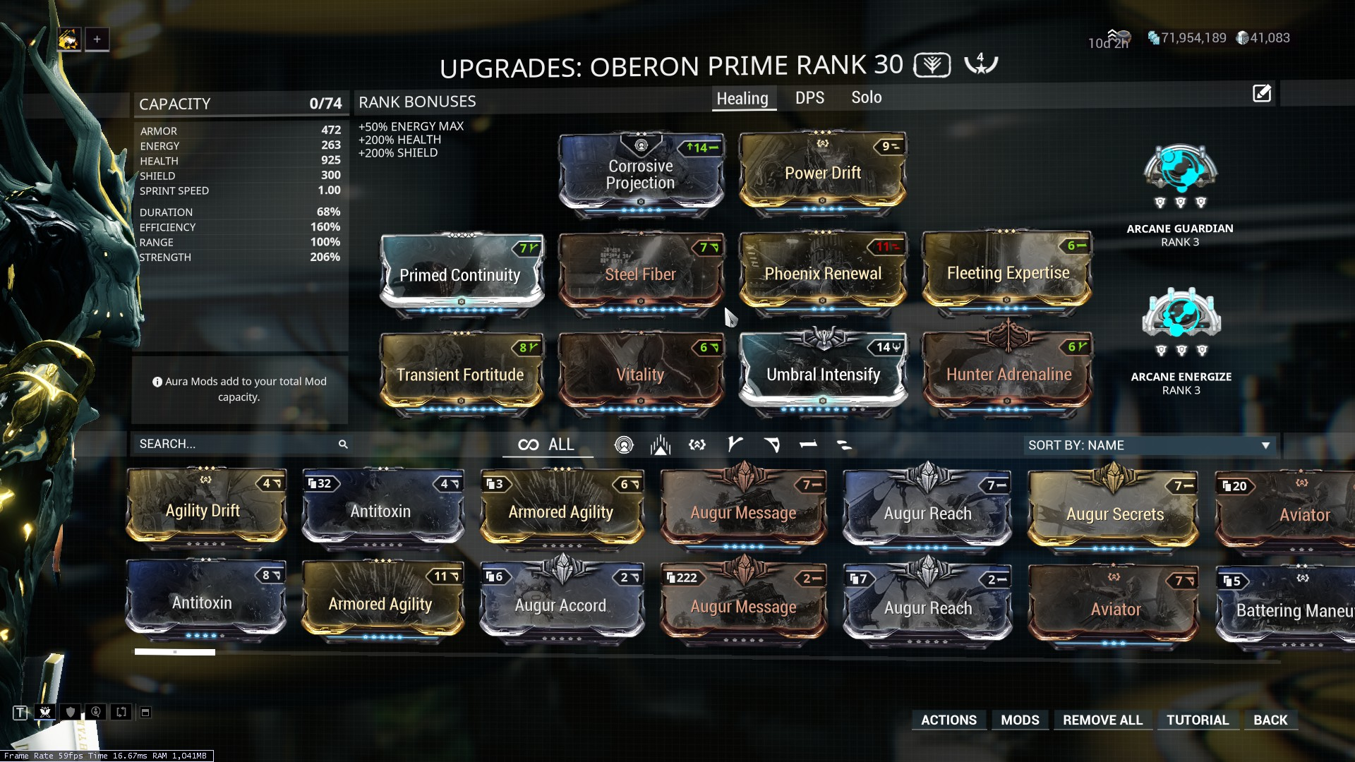 Is it a good build for oberon prime? - Players helping Players